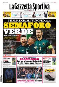 La Gazzetta dello Sport Roma – 13 ottobre 2019