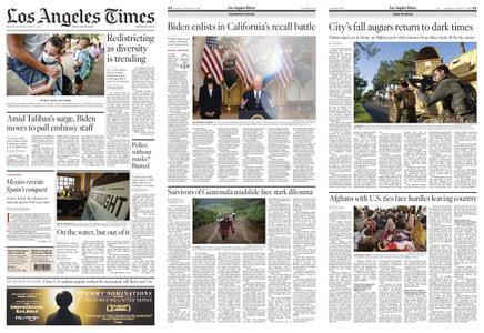 Los Angeles Times – August 13, 2021