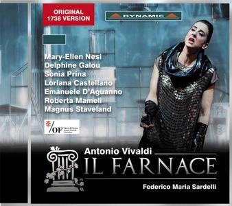 Federico Maria Sardelli, Orchestra of the Maggio Musicale Fiorentino - Vivaldi: Il Farnace (2015)
