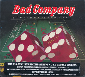 Bad Company - Straight Shooter (1975) [2015, Deluxe Edition]