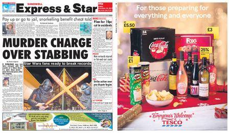 Express and Star Sandwell Edition – December 15, 2017