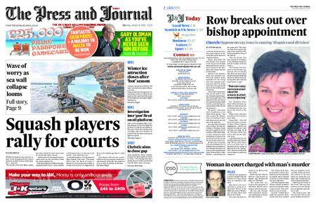 The Press and Journal Moray – January 06, 2018
