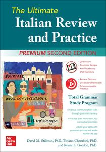 The Ultimate Italian Review and Practice, Premium, 2nd Edition