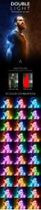 GraphicRiver - Double Light Photoshop Action 24068178