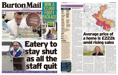 Burton Mail – May 12, 2021