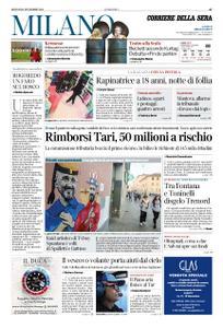Corriere della Sera Milano – 15 novembre 2018