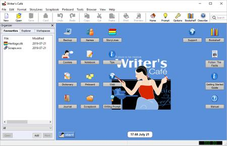 Anthemion Writers Cafe 2.44.0 Multilingual