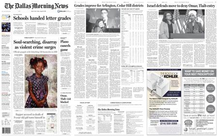 The Dallas Morning News – August 16, 2019