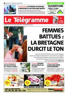Le Télégramme Brest Abers Iroise – 13 mai 2021