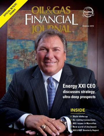 Oil & Gas Financial Journal - October 2010
