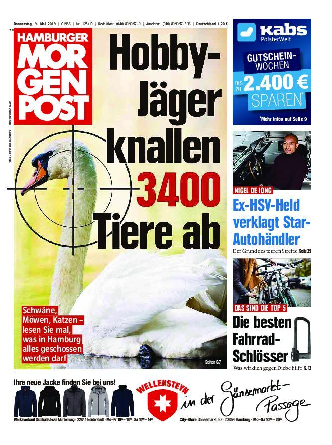 Hamburger Morgenpost – 09. Mai 2019