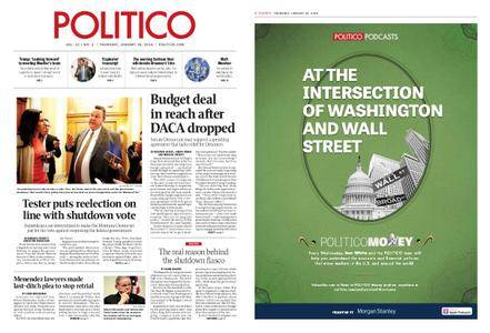 Politico – January 25, 2018