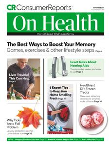 Consumer Reports on Health - September 2021