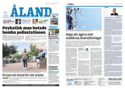 Ålandstidningen – 07 september 2019