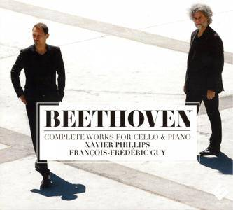 Xavier Phillips, Francois-Frederic Guy - Ludwig van Beethoven: Complete Works for Cello & Piano (2015) 2CDs