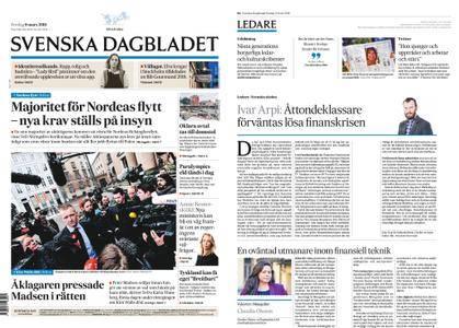 Svenska Dagbladet – 09 mars 2018