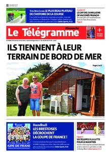 Le Télégramme Brest Abers Iroise – 16 mai 2021