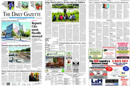 The Daily Gazette – September 28, 2019