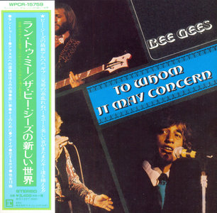 Bee Gees - To Whom It May Concern (1972) [2014, Warner Music Japan, WPCR-15759]