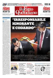 Il Fatto Quotidiano - 21 agosto 2019