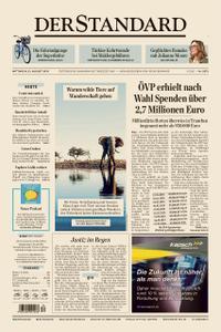 Der Standard – 21. August 2019