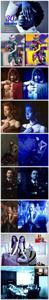 CreativeMarket - 30 Blue Effect Photoshop Action 3747230