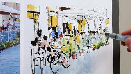 Lynda - Foundations of Drawing: Urban Sketching with Will Kemp