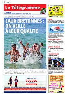 Le Télégramme Brest Abers Iroise – 27 juillet 2019