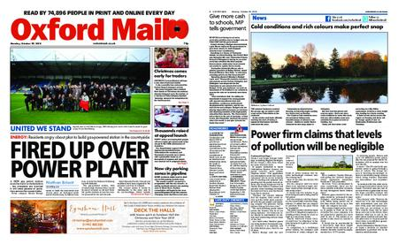 Oxford Mail – October 29, 2018