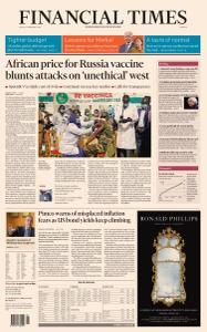 Financial Times Europe - February 26, 2021
