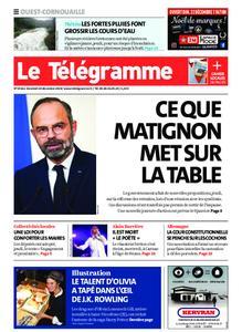 Le Télégramme Ouest Cornouaille – 20 décembre 2019