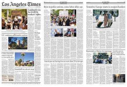 Los Angeles Times – June 16, 2020