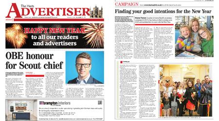 The Herts Advertiser – January 02, 2020