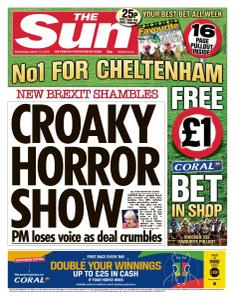 The Sun UK - 13 March 2019