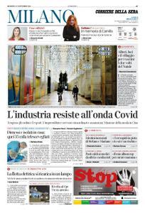 Corriere della Sera Milano – 22 novembre 2020