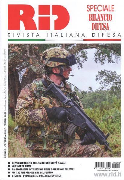 Rivista Italiana Difesa - Febbraio 2017