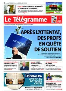 Le Télégramme Landerneau - Lesneven – 20 octobre 2020