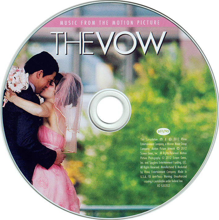 VA - The Vow: Music From The Motion Picture (2012)