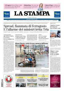 La Stampa Torino Provincia e Canavese - 14 Agosto 2018
