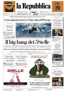 la Repubblica - 24 Aprile 2021