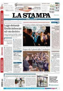 La Stampa Torino Provincia e Canavese - 12 Ottobre 2017
