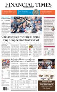 Financial Times Asia - July 30, 2019