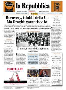 la Repubblica - 25 Aprile 2021