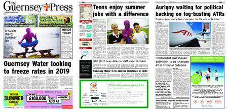 The Guernsey Press – 29 August 2018