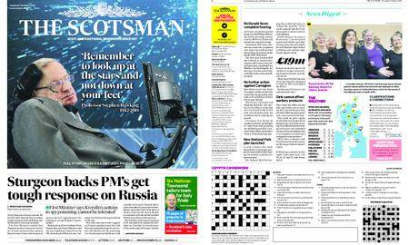 The Scotsman – March 15, 2018