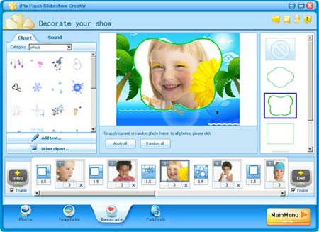 iPixSoft Flash Slideshow Creator 4 5 2 0 / AvaxHome