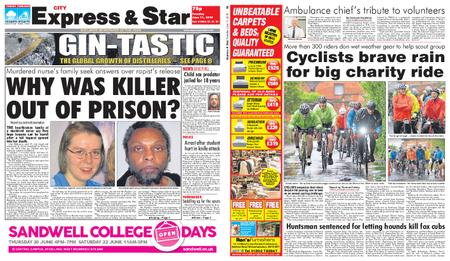 Express and Star City Edition – June 11, 2019