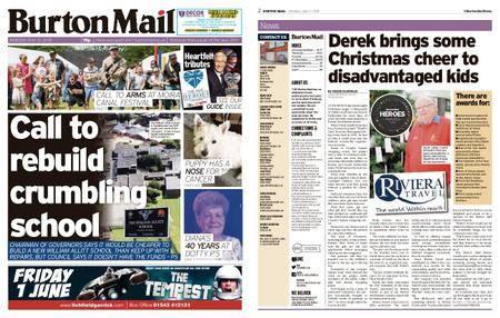 Burton Mail – May 21, 2018