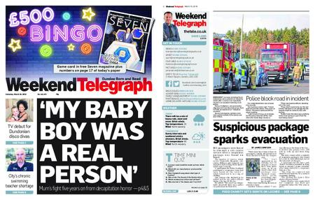 Evening Telegraph First Edition – March 16, 2019