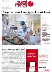 Ouest-France Édition France – 16 avril 2020